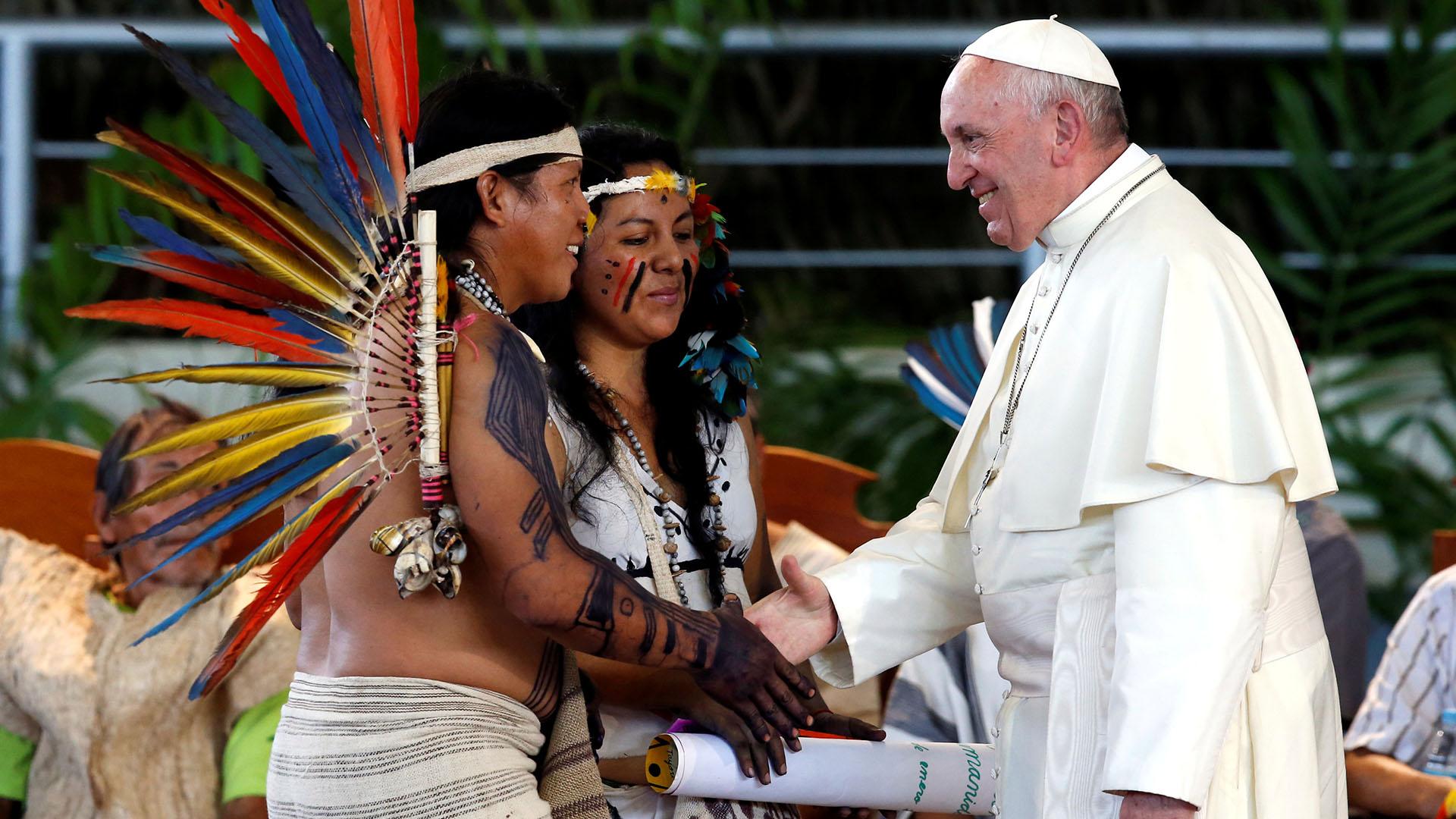 """Papa Francisco: """"El acceso al agua es un derecho humano, que debe respetarse"""""""